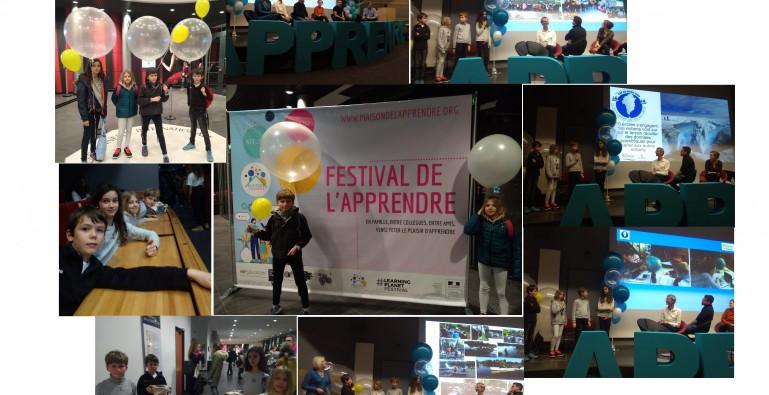 Au «festival de l'apprendre», Lyon!